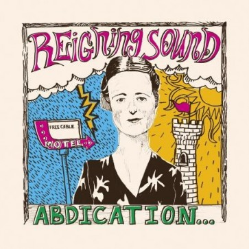 """REIGNING SOUND """"Abdication... For Your Love"""" LP (RED vinyl)"""