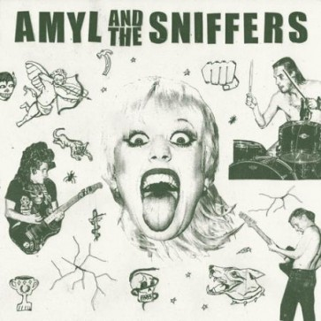 """AMYL AND THE SNIFFERS """"S/T"""" LP"""