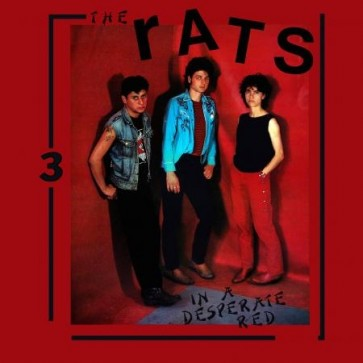 """THE RATS """"In A Desperate Red"""" LP (w/ 40 page booklet)"""