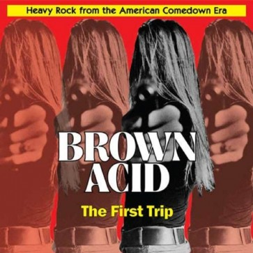 """VARIOUS ARTISTS """"Brown Acid: The First Trip"""" (Opaque lime green vinyl) LP"""