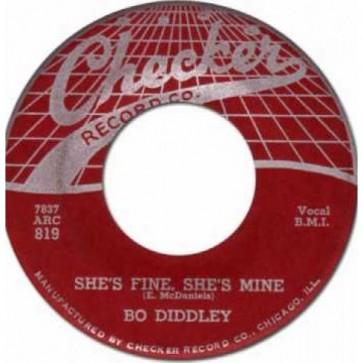 "DIDDLEY, BO ""She's Fine"" 7"""