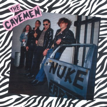 "THE CAVEMEN ""Nuke Earth"" LP (PINK vinyl)"