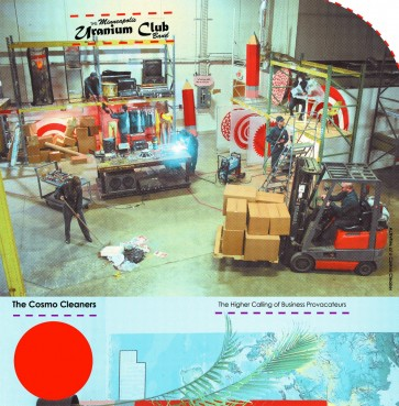 "URANIUM CLUB ""The Cosmo Cleaners: The Higher Calling Of Business Provocateurs"" LP"