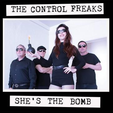 "THE CONTROL FREAKS ""She's The Bomb"" LP (GREEN vinyl)"
