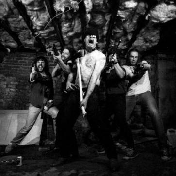 "ALLIN, GG & ANTISEEN ""Murder Junkies"" LP (BROWN vinyl)"