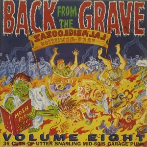 """VARIOUS ARTISTS """"Back From The Grave Vol. 8""""  (2xLP) (Gatefold)"""