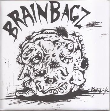 "BRAIN BAGZ ""Naughty Man""  7"" (Cover 2)"