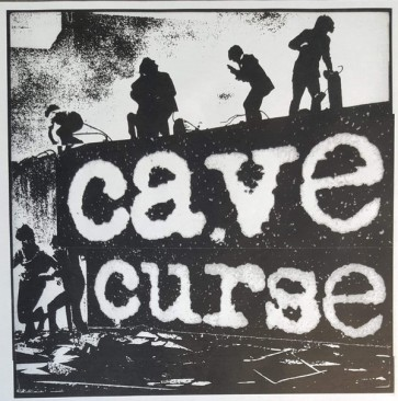 """CAVE CURSE """"Buried / Trash People"""" 7"""" (Cover 1)"""
