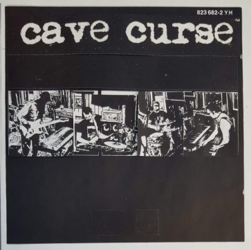 """CAVE CURSE """"Buried / Trash People"""" 7"""" (Cover 3)"""