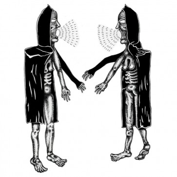 "CHOKE CHAINS ""Choke Chain/ Mayan Starship"" 7"" (NJ artwork, BLACK vinyl)"