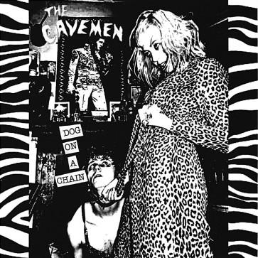 "THE CAVEMEN ""Dog on a Chain"" EP (Black Vinyl)"