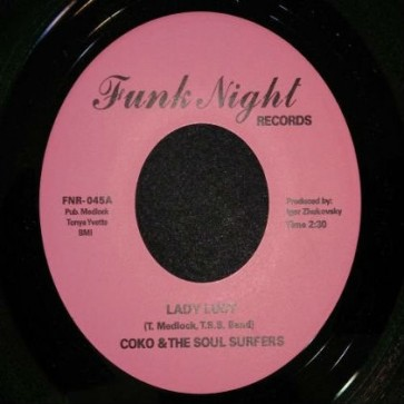 """COKO & THE SOUL SURFERS """"Lady Lucy / Wicked"""" 7"""""""