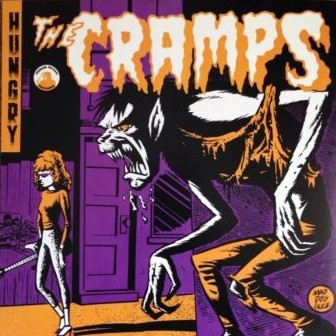 "CRAMPS ""Hungry"" 7"" (PEACH colored vinyl)"