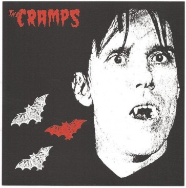 "CRAMPS ""Sunglasses After Dark"" 7"" (Orange opaque vinyl)"