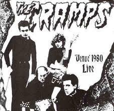 """CRAMPS """"Venue 1980 Live"""" 7"""" (GREEN vinyl)"""