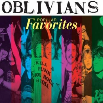 """OBLIVIANS """"Popular Favorites"""" CD (digipac reissue)"""