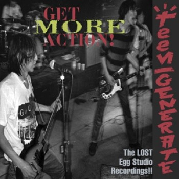 "TEENGENERATE ""Get More Action"" LP (Gatefold)"