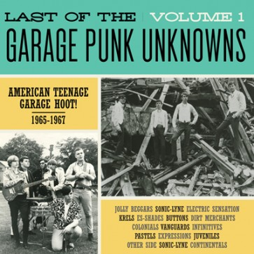 "VARIOUS ARTISTS ""The Last Of The Garage Punk Unknowns Volume 1"" LP (Gatefold)"