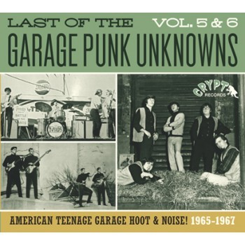 """VARIOUS ARTISTS """"The Last Of The Garage Punk Unknowns Volume 5+6"""" CD"""