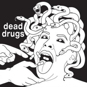 """DEAD DRUGS """"Pillow Talk"""" 7"""" (Green vinyl)"""