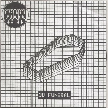 "DRAGGS ""3D Funeral"" 7"" (Cover 2)"