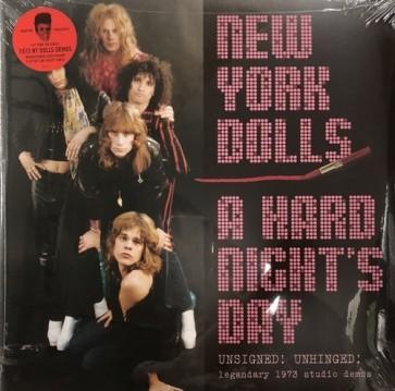 "NEW YORK DOLLS ""A Hard Night's Day"" (2xLP) (PURPLE vinyl)"