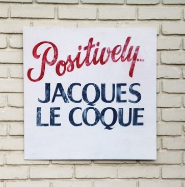 """Positively...Jacques Le Coque"" LP (Red, white & blue splattered vinyl)"