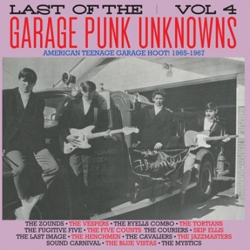 """VARIOUS ARTISTS """"The Last Of The Garage Punk Unknowns Volume 4"""" LP (Gatefold)"""