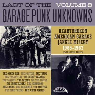 """VARIOUS ARTISTS """"The Last Of The Garage Punk Unknowns Volume 8"""" (Gatefold) LP"""