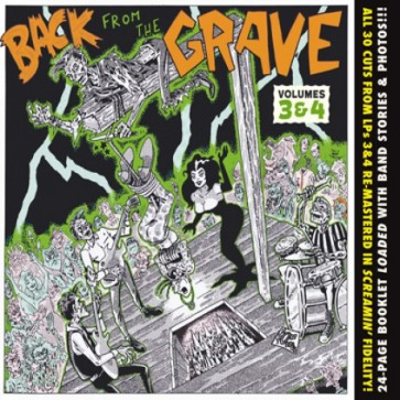 "VARIOUS ARTISTS ""Back from the Grave Volumes 3 & 4"" CD"