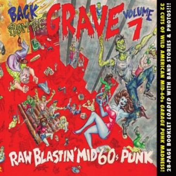 "VARIOUS ARTISTS ""Back from the Grave Volume 7"" CD"