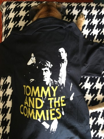 TOMMY AND THE COMMIES T-SHIRT MEN'S SMALL