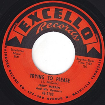 "McCAIN, JERRY ""My Next Door Neighbor"" 7"""