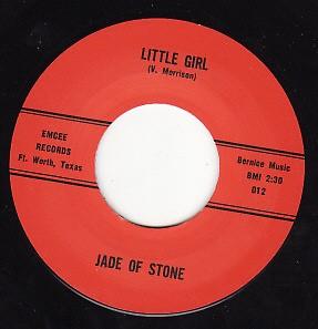 "JADE OF STONE ""Little Girl/ Mercy Mercy"" 7"""