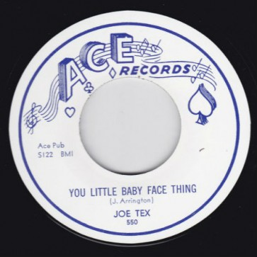 "LITTLE BOOKER/ JOE TEX ""Open The Door / You Little Baby Face Thing"" 7"""