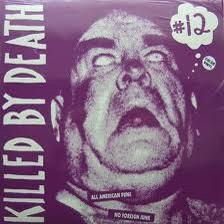 VARIOUS ARTISTS 'Killed By Death Vol. 12' LP (Color vinyl)
