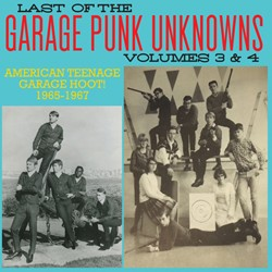 """VARIOUS ARTISTS """"The Last Of The Garage Punk Unknowns Volume 3+4"""" CD"""