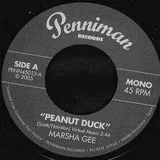 """MARSHA GEE """"Peanut Duck"""" 7"""""""