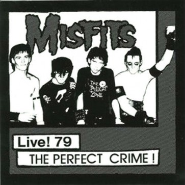 "THE MISFITS ""Live '79-The Perfect Crime"" 7"" (GREEN vinyl)"