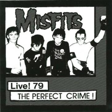 "THE MISFITS ""Live '79-The Perfect Crime"" 7"" (WHITE vinyl)"