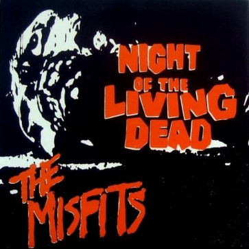 "MISFITS ""Night Of The Living Dead"" 7"" (ORANGE vinyl)"