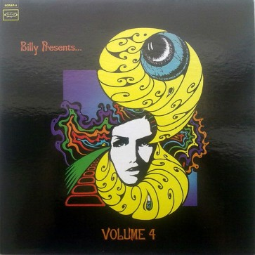 """VARIOUS ARTISTS """"Billy Presents... Psychedelic Unknowns Volume 4"""" LP"""