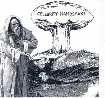 "CELEBRITY HANDSHAKE ""Political Future"" 7"""