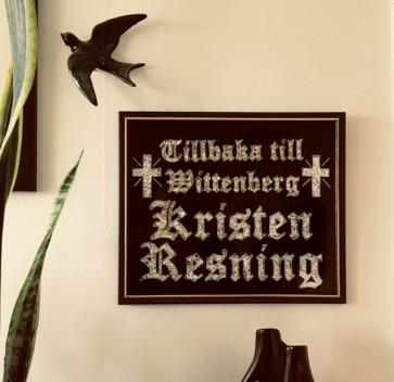 """KRISTEN RESNING """"Tillbaka Till Wittenberg"""" EP"""