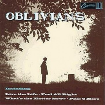 "OBLIVIANS ""Play 9 Songs With Mr. Quintron"" CD"