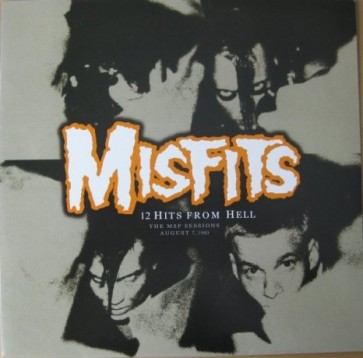 """MISFITS """"12 Hits From Hell: The MSP Sessions"""" LP (Colored vinyl)"""