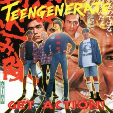 "TEENGENERATE ""Get Action!"" CD"
