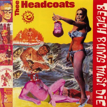 """HEADCOATS """"Beached Earls"""" (Two lps on 1 cd) CD"""