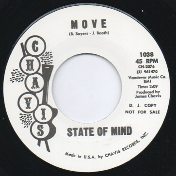 """STATE OF MIND """"Move/ If He Comes Back"""" 7"""""""