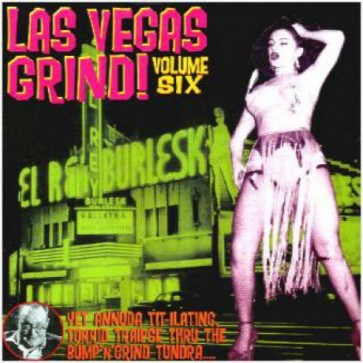 "VARIOUS ARTISTS ""Las Vegas Grind #6"" CD"